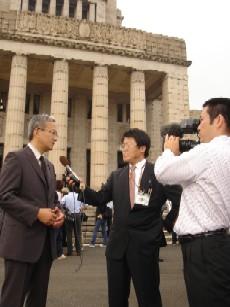 NHKインタビュー