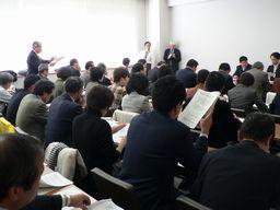 東京と神奈川、千葉から大勢の地方議員らが参加しました