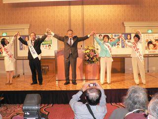 江戸川区の演説会(主催 日本共産党江戸川地区委員会)で、講演をしました。