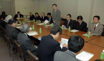 日本共産党と全建総連との懇談会